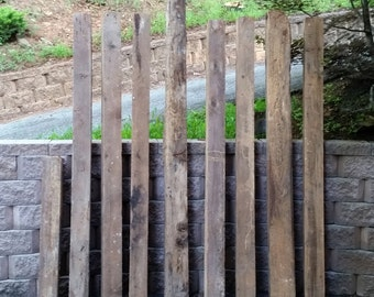 Authentic Barn Beams- Reclaimed / Recycled Lumber- Rough Hewn with Great Distressed Character- For Mantles, Posts, or Furniture