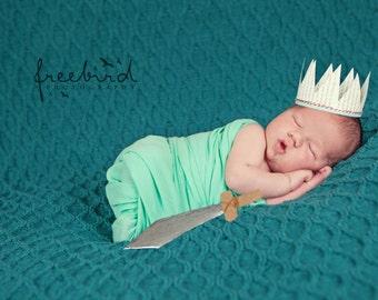 Newborn Paper Crown