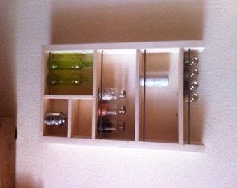 Kitchen shelf plank