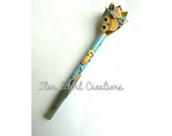 Owl Duck tape pen