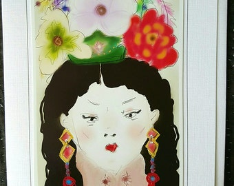 Chinese Empress - card