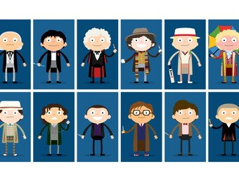 Doctor Who A3 Print