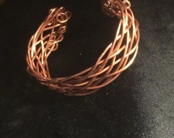 This is a 9 wire copper weave
