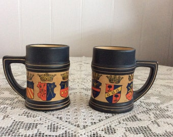 Coffee mugs from Florence, Italy