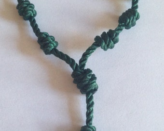 Knotted Decade Rosary