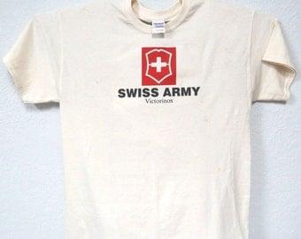 "SWISS ARMY,Victorinox,""Logo"" T-SHIRT T-44Ivy"
