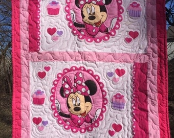 Minney Mouse Toddler/baby quilt