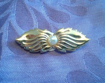 Simple PIN gold with Pearl Vintage