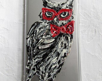 Hand drawn iPhone case - Owl