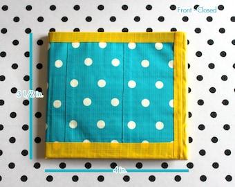 Bi-Fold Duct Tape Wallet - Polka Dots