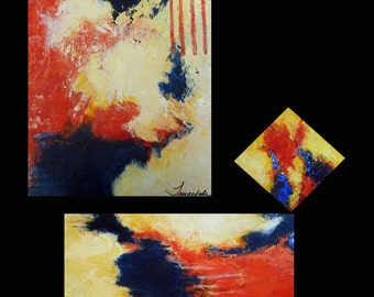 """Original Acrylic Paintings - """"ANY WHICH WAY"""""""