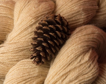 Wool Yarn by Effie - Worsted Weight 2 Ply Border Leicester