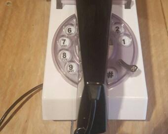 Retro 80's style dial telephone.