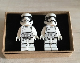 Star Wars gift, star wars cufflinks, Storm Trooper, Storm Trooper Cufflinks, star wars gift, superhero, gifts for him, geek gift