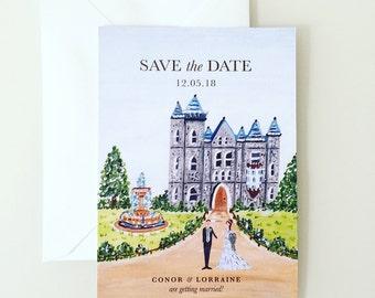 Fairytale Save the Date card