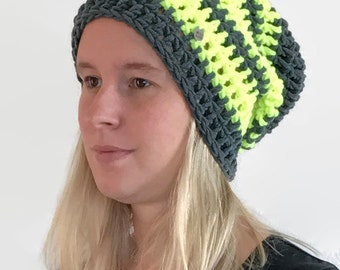 The 'All that I can see is just a yellow lemon-tree' slouchy beanie