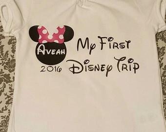 My First Trip to Disney T-Shirt