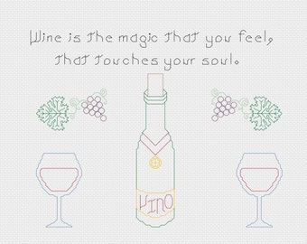 Wine is the magic pattern
