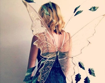 Large Leafy Faerie wings