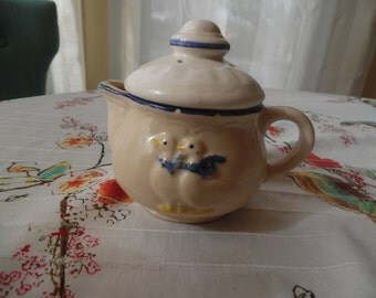 Just Ducky Creamer with Lid