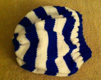 Adult Striped Slouchy Hat