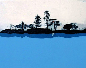 Cleveland Point (Etching)