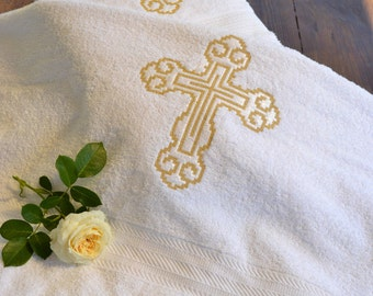 Towel for baptizing