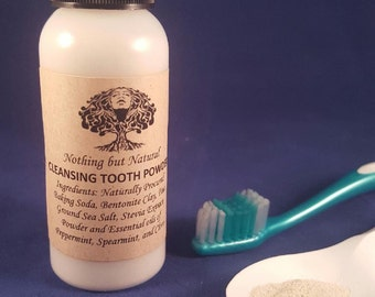Cleansing Tooth Powder