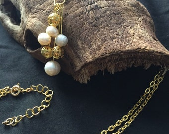 Pearl Necklace Beautiful Baroque Freshwater Pearls