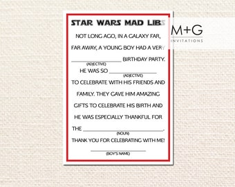 It is a photo of Genius Happy Birthday Mad Libs Printable
