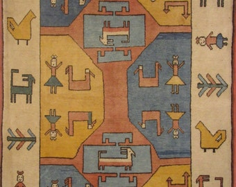 Turkey carpet Sultanabad-233x162 cm-hand-knotted (225,640)