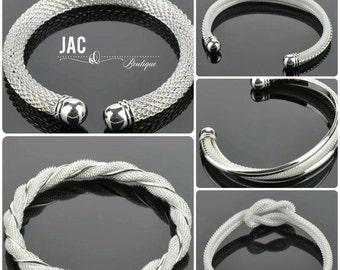 Mesh Cuff Bracelets