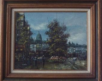 O Liveri original oil painting Signed