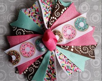 Donut Spiked Hairbow