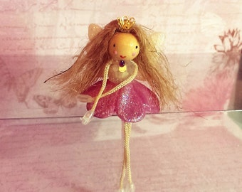 Fairy doll, doll, miniature, collectible,gift,