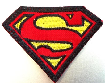 Superman LOGO- Sew On Embroidered Patch