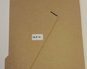 """12"""" x 10"""" 3mm Standback/Strutback for picture/photo frame."""