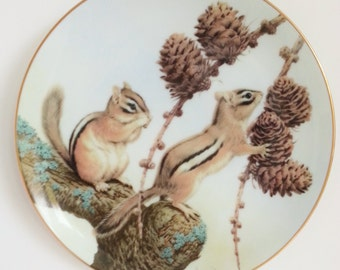 John Francis 'The Forest Year' Decorative Porcelain Plate
