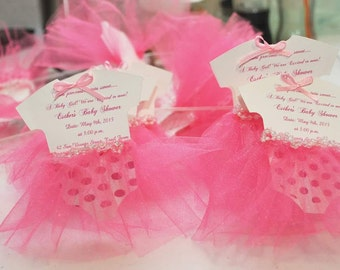 Baby Shower Tutu Invitations