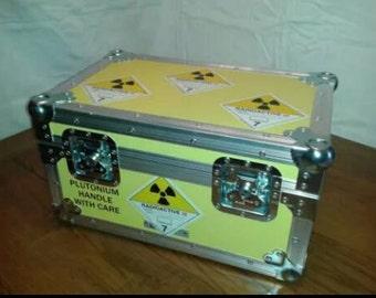 Back To The Future Prop Replica - Plutonium Case (scale version)