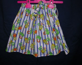 Skirt with matching headband.