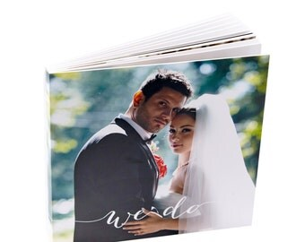 Wedding Album. Personalized Wedding Album.10X10 inches . 25X25 centimeters. 20 pages.Wedding Photo Album.