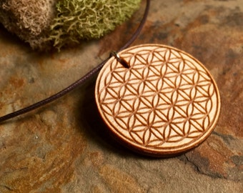 Flower of Life Pendant Necklace