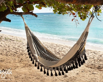 Aguadas Hammock, boho, beach house, hand woven, double hammock, outdoors, luxury hammock