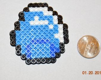 Mine Craft diamond keychain