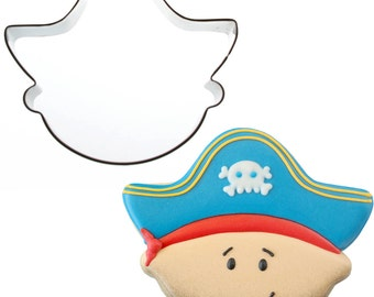 Sweet Elite Scurvy Pirate Cookie Cutter designed by Sweet Sugarbelle