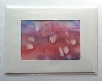 Original Watercolor Card - 069