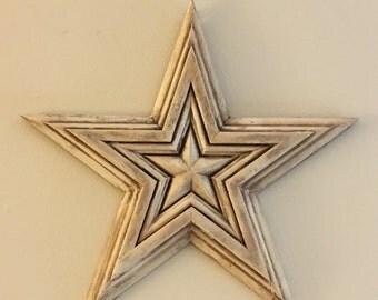Glazed cream star