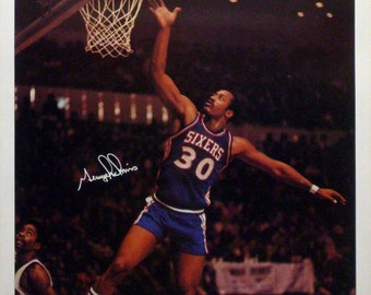 George McGinnis 23x35 NBA SI Poster 1977 Sixers