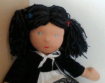 Waldorf inspired doll size: 22 inch/ 56 cm